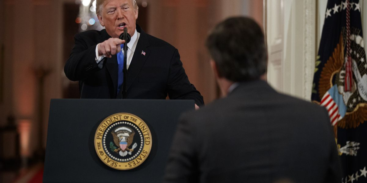 The Latest: WH video appears manipulated, producer says