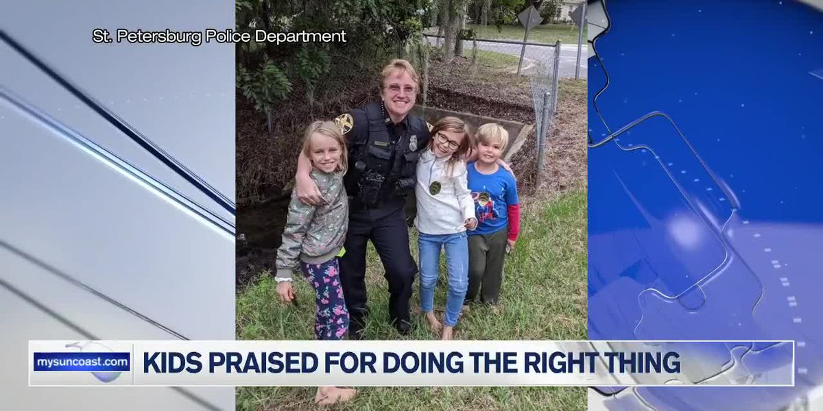 Kids Praised for Doing the Right Thing