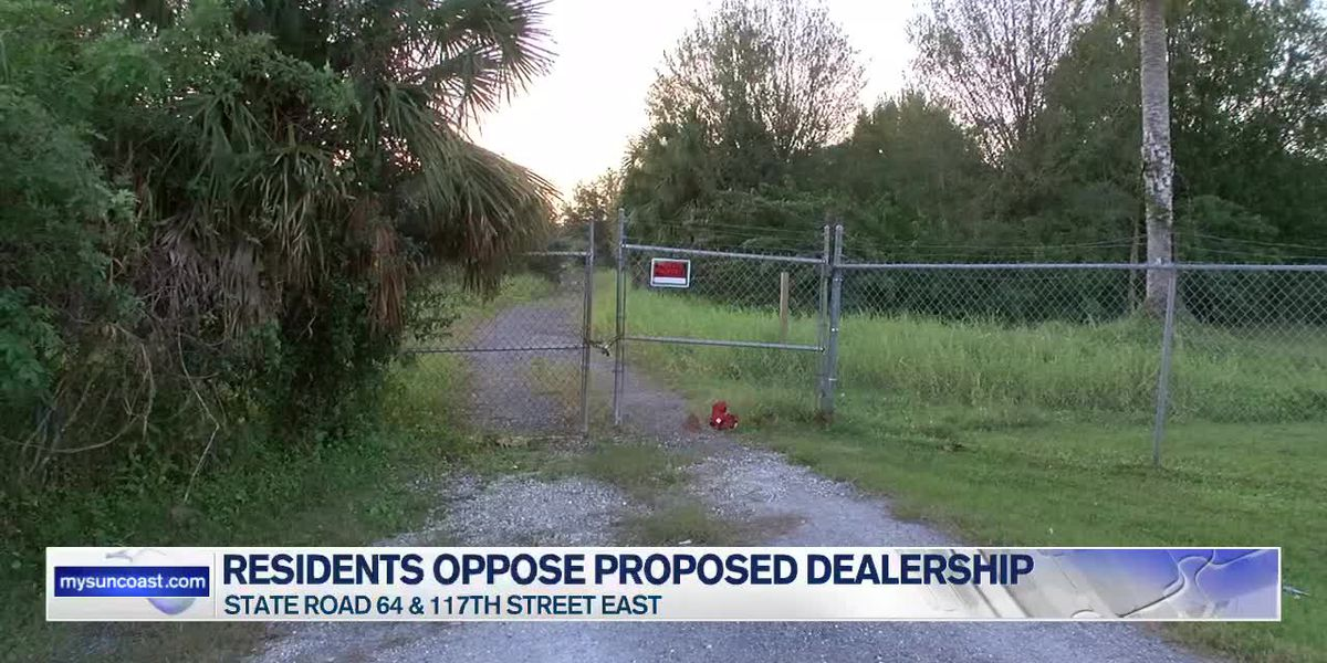 Residents Oppose Proposed Dealership
