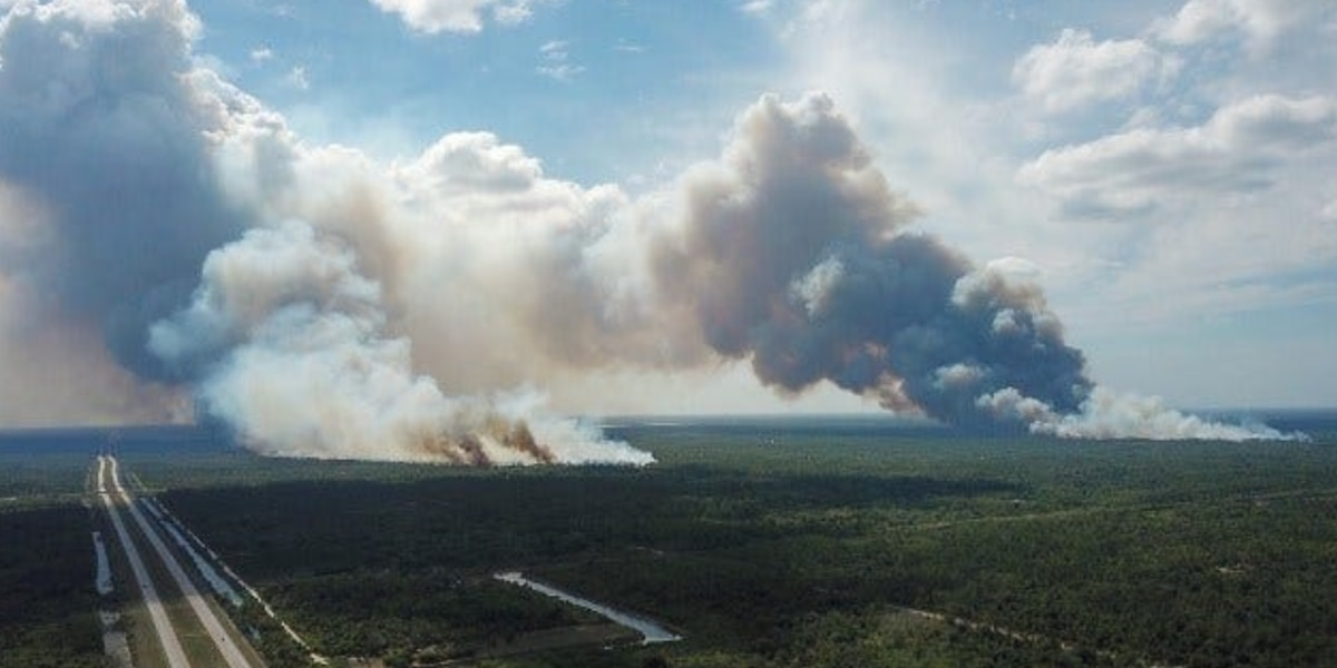 Wildfire shuts down busy stretch of I-75 in Alligator Alley; evacuations underway