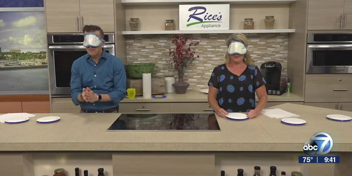 "Tasting Game ""Guess the Grub"" with Our Hosts 
