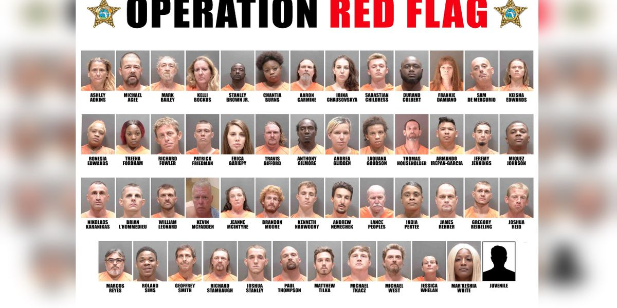Sheriff's office makes 51 arrests in Sarasota County shoplifting crackdown