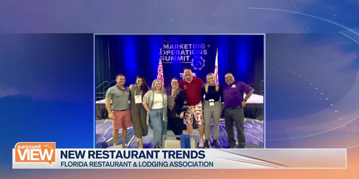 Eleni Sokos Talks the Trends from this Year's Florida Restaurant & Lodging Association | Suncoast View