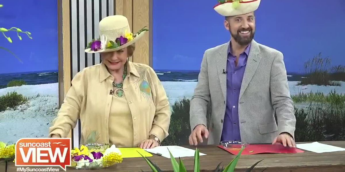 Ready to Make a Big Splash at Social Events? We Try Out Floral Hat Decorating | Suncoast View