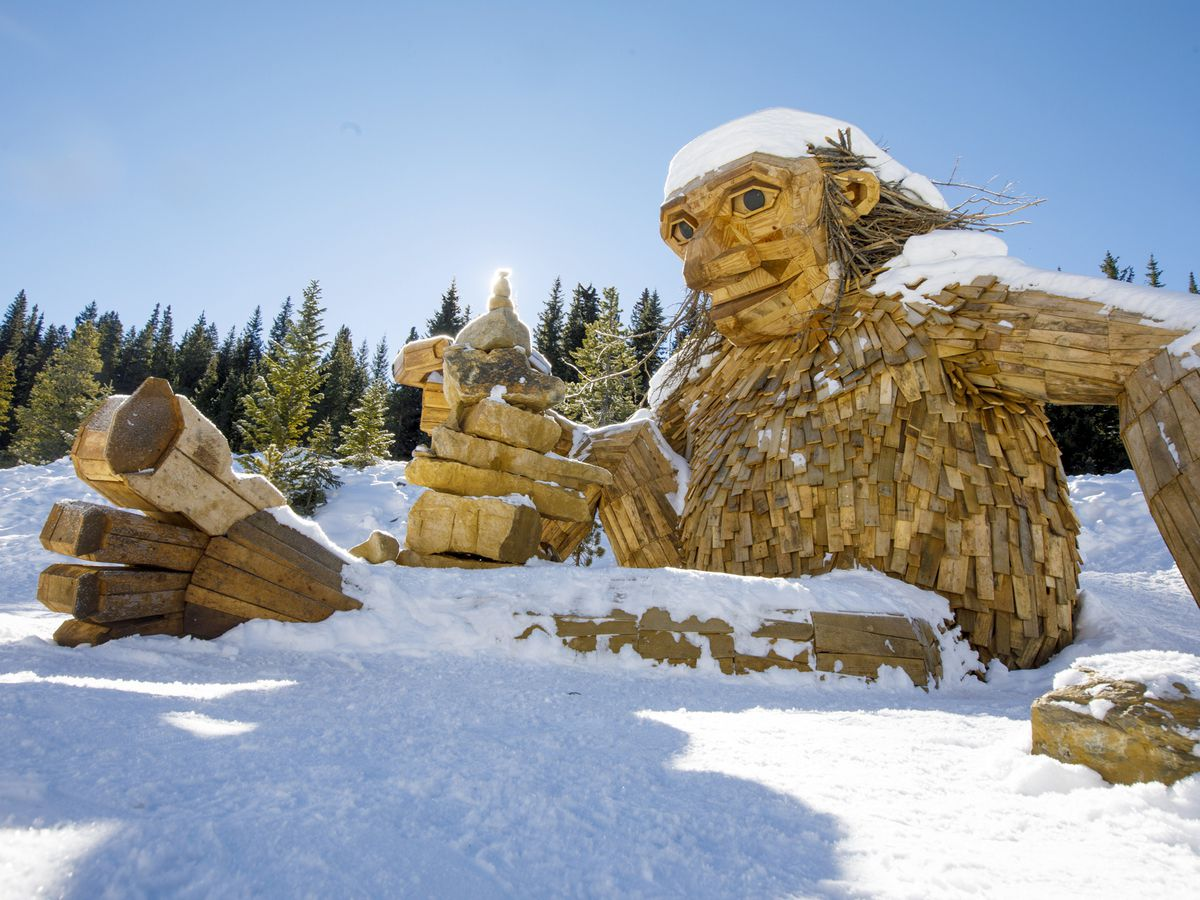 Giant wooden troll removed in Colorado could get new home