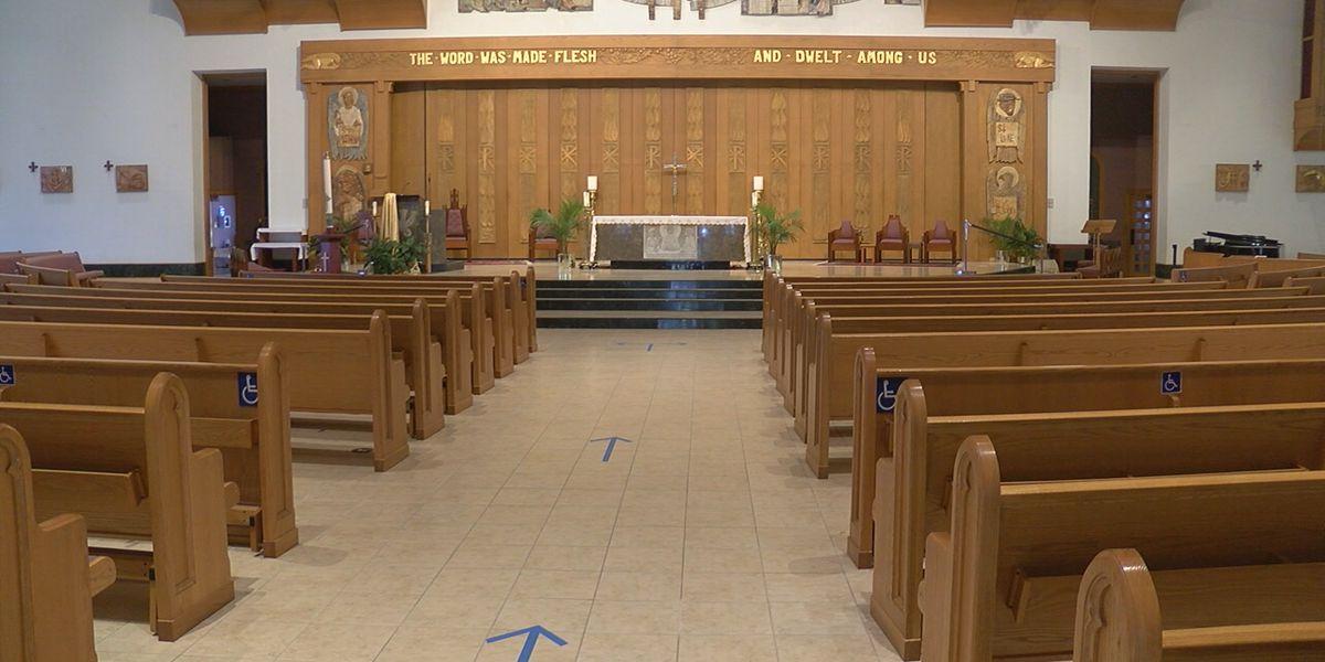 Catholic churches on the Suncoast reopening for mass on Monday