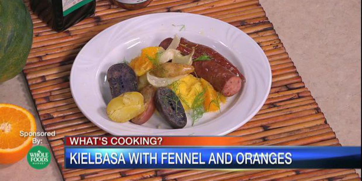Kielbasa with Fennel and Oranges | Chef Judi