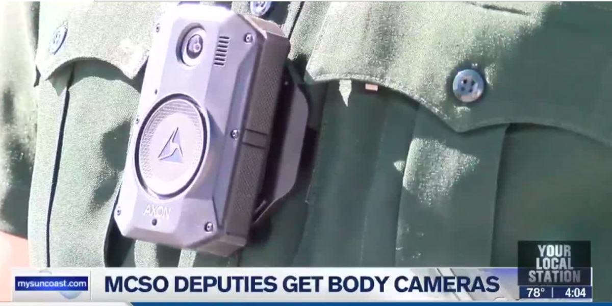Many Manatee County Sheriff's Office deputies are now wearing body cameras