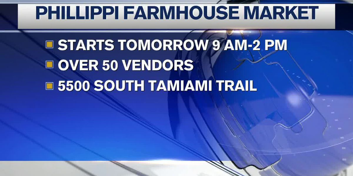 Phillippi Farmhouse Markets returns for 11th year