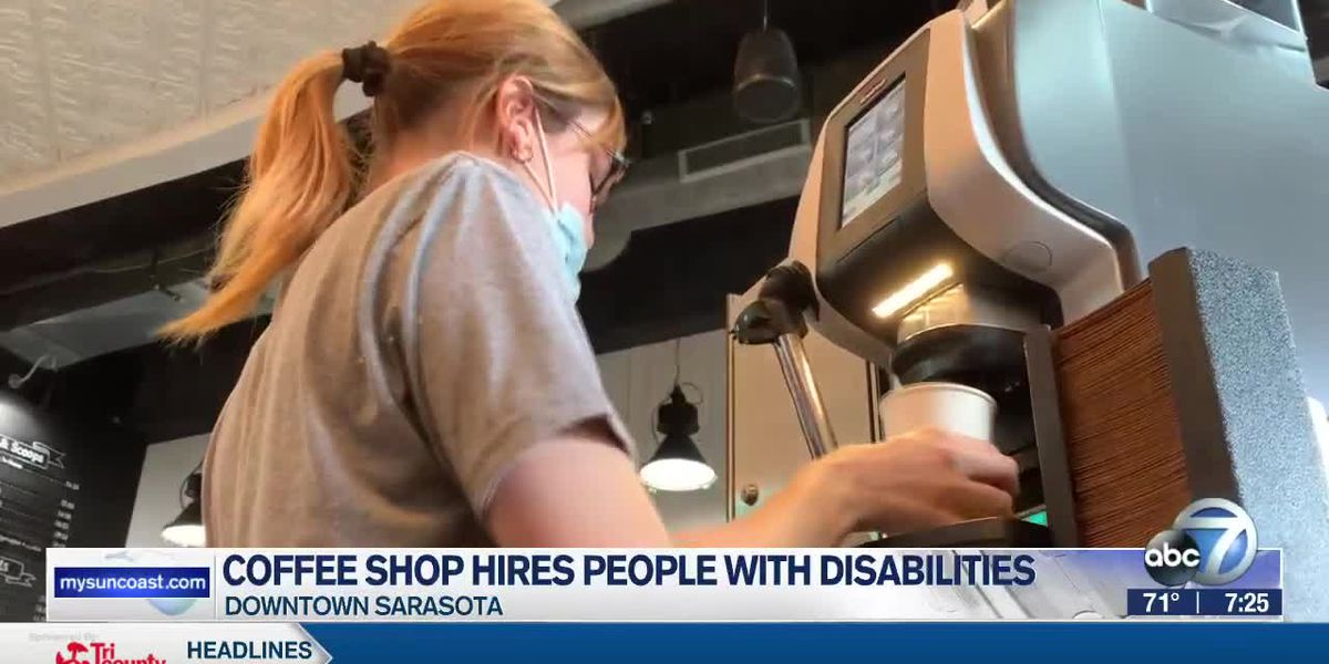 Sarasota coffee and ice cream shop hires people with disabilities
