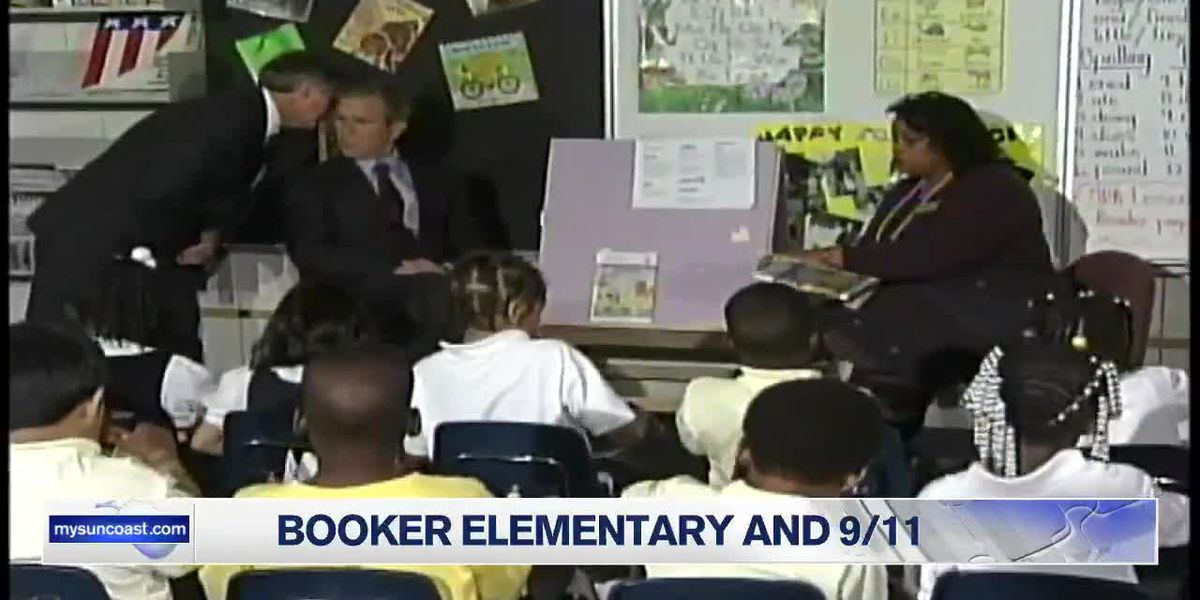 18 years later: President George W. Bush was sitting in Sarasota classroom when events of 9/11 unfolded