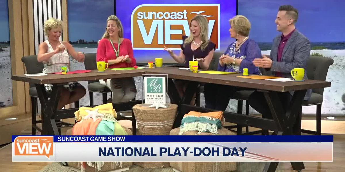 We Celebrate National Play-Doh Day with a Game of Artistic Skill! | Suncoast View