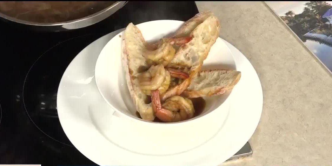 Nola BBQ Shrimp from Eliza Ann's Coastal Kitchen | Suncoast View