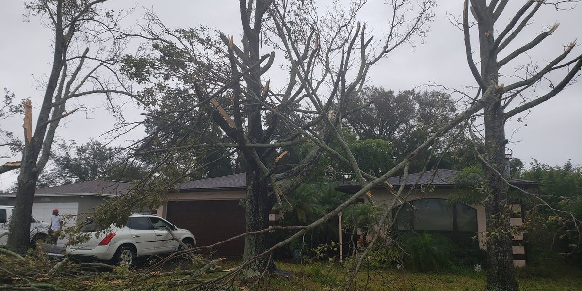 Tornado rips through Pinellas County