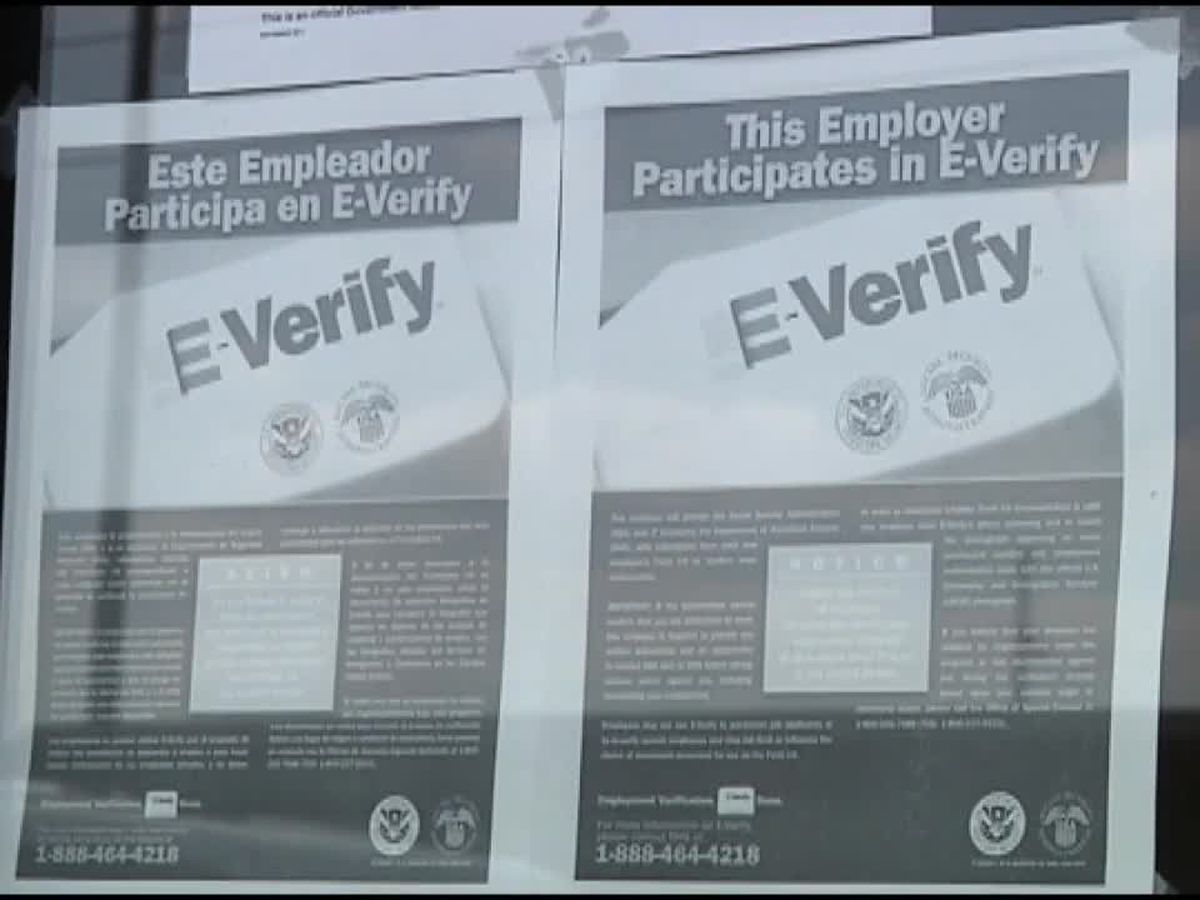 "Sponsor of Florida E-Verify bill says changes made by Senate committee make it a ""mockery"""