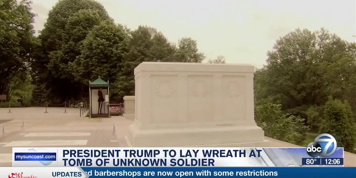 Trump to lay wreath