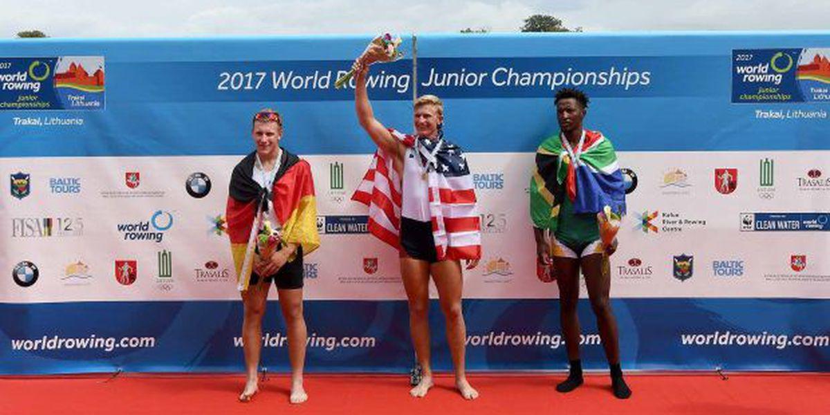 Suncoast rower wins world title