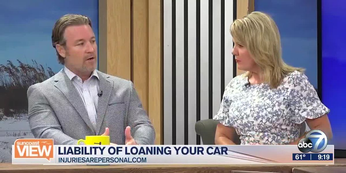 Learn About the Liability of Loaning Your Car with Carl Reynolds | Suncoast View