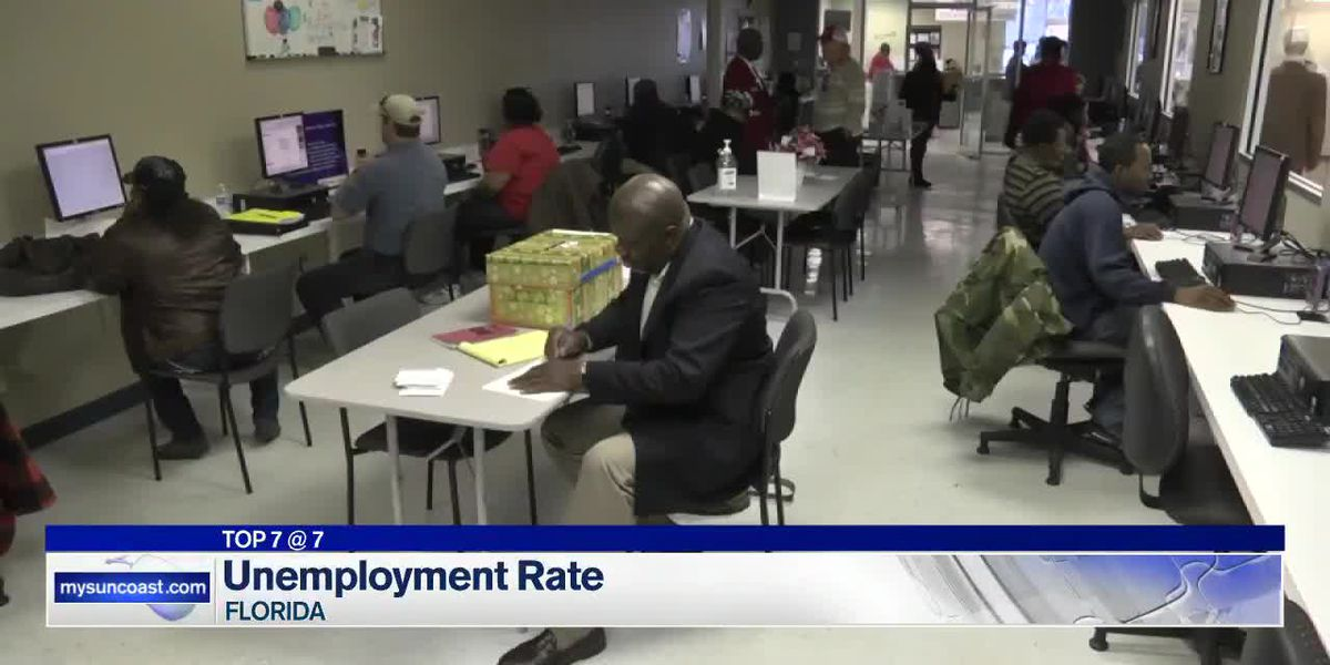 Florida's May unemployment rate shows drop from April's percentage