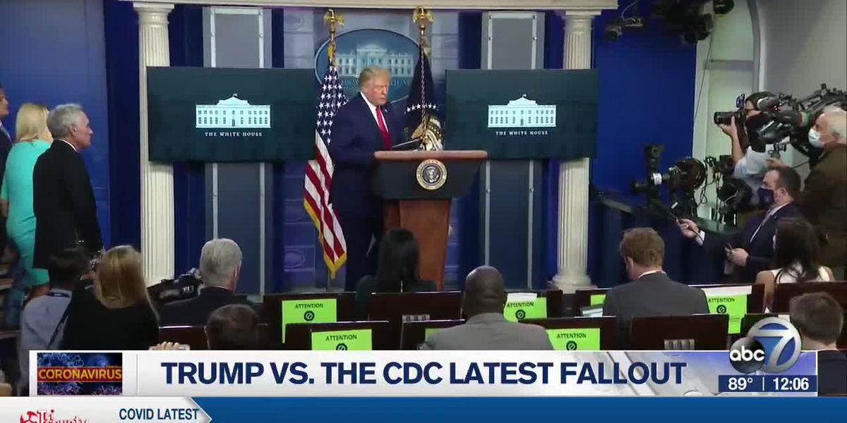 President Trump And The CDC