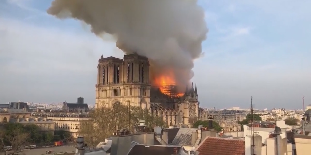 Suncoast residents share their experience of Notre Dame Cathedral in Paris, France and react to destructive fire