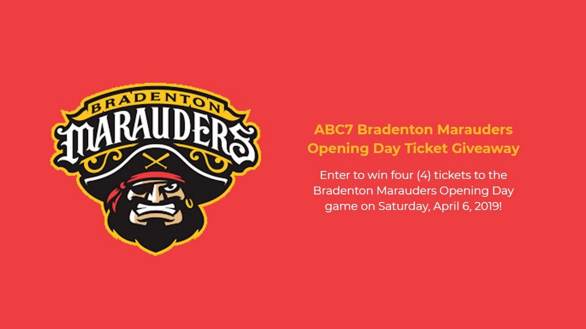 ABC7 Bradenton Marauders Opening Day Ticket Giveaway