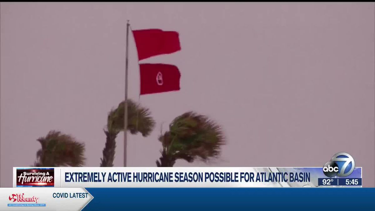 'Extremely active' hurricane season possible for Atlantic Basin according to NOAA and Colorado State University