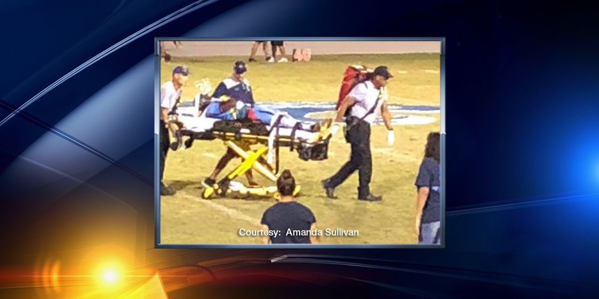 North Port High School football player recovering from serious injury