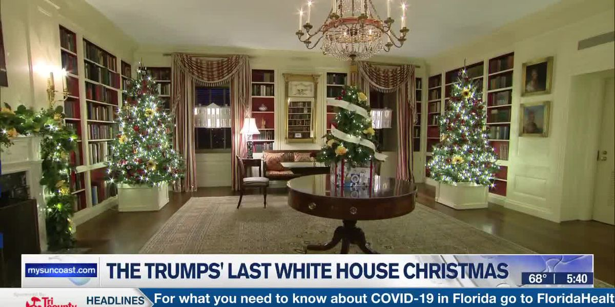 The Trumps' Last White House Christmas