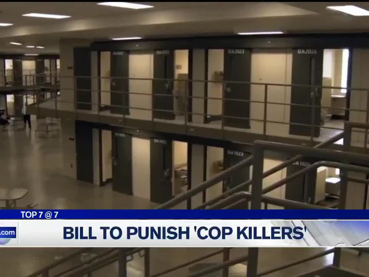 Congressman Buchanan proposing bill to punish 'cop killers'