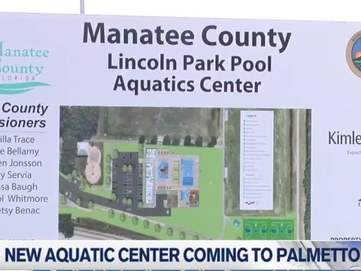 A new Aquatic Center is coming to the city of Palmetto