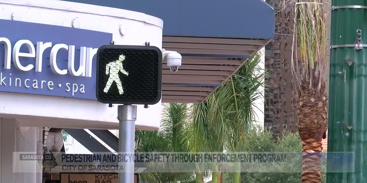 Sarasota Police to begin visibility enforcement plan to boost pedestrian and bicycle safety