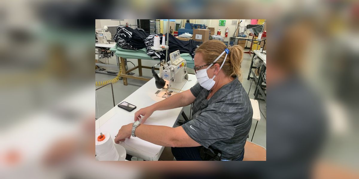 Deputies and inmates to make 100 masks during COVID-19 crisis