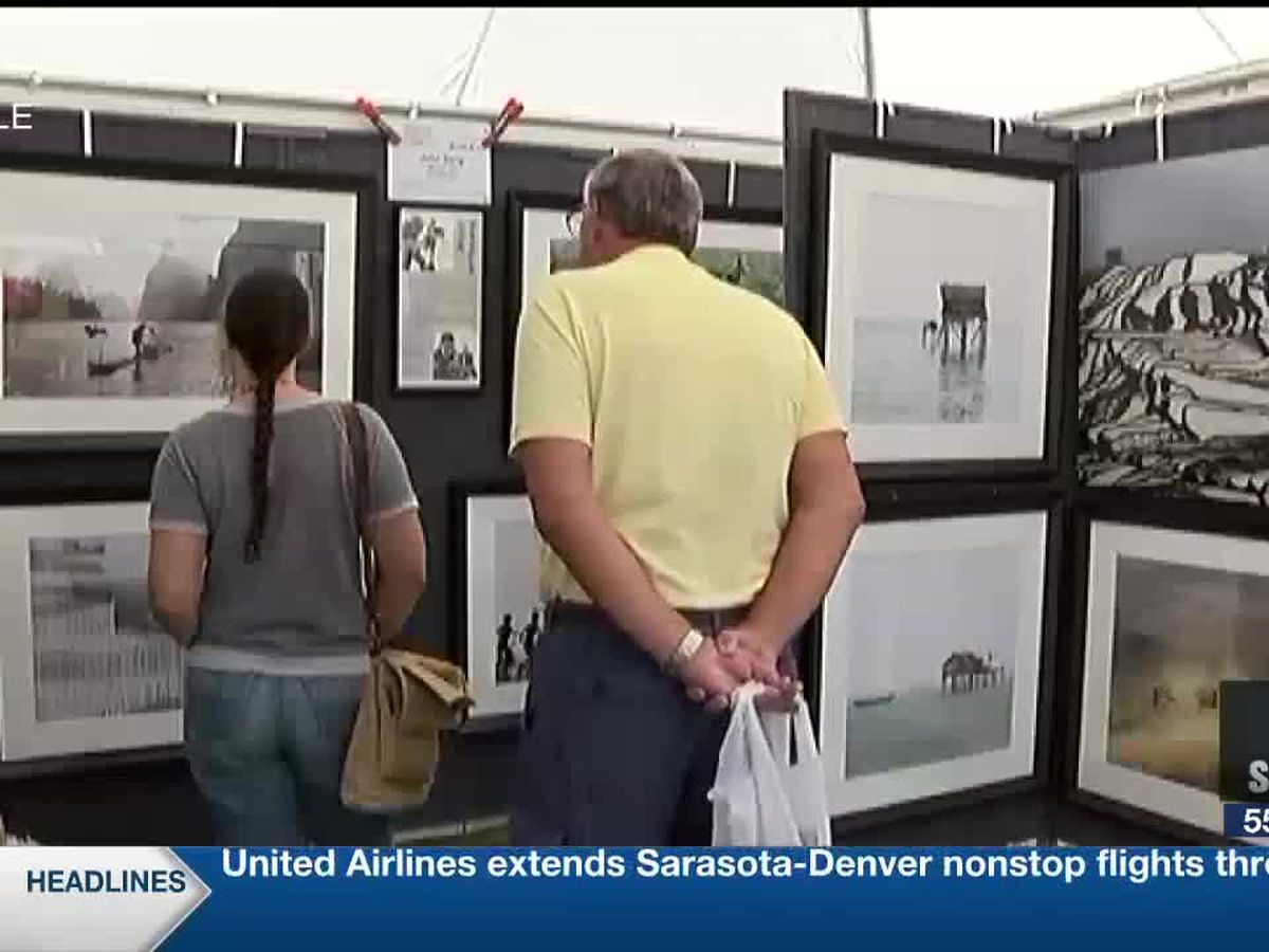 Sarasota Art Festival wraps up Sunday
