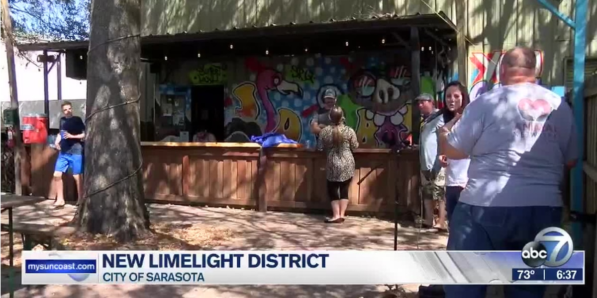 """Sarasota recognizes area of the city as the """"Limelight District"""""""