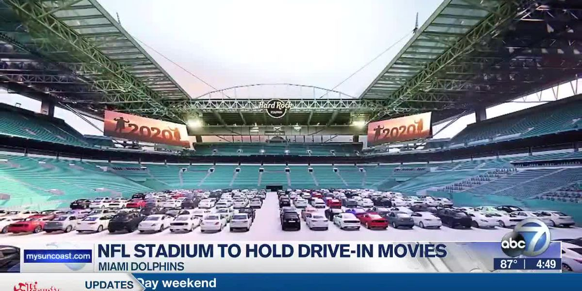 NFL Stadium to Hold Drive-In Movies