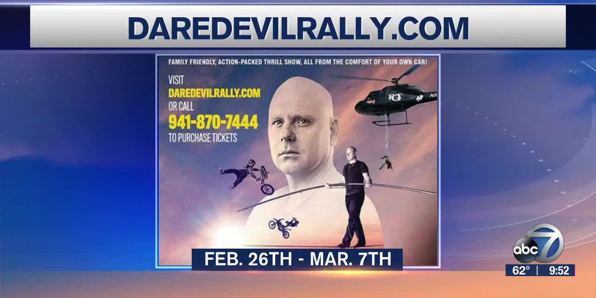 Nik Wallenda's Daredevil Rally returns | Suncoast View