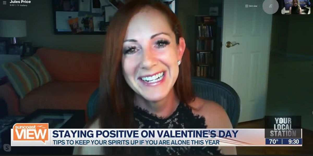 Valentine's Day positivity with Jules Price l Suncoast View