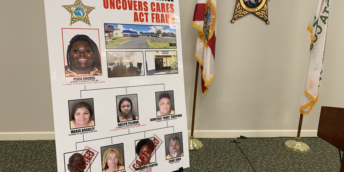Sarasota Sheriff releases findings in CARES Act Fraud