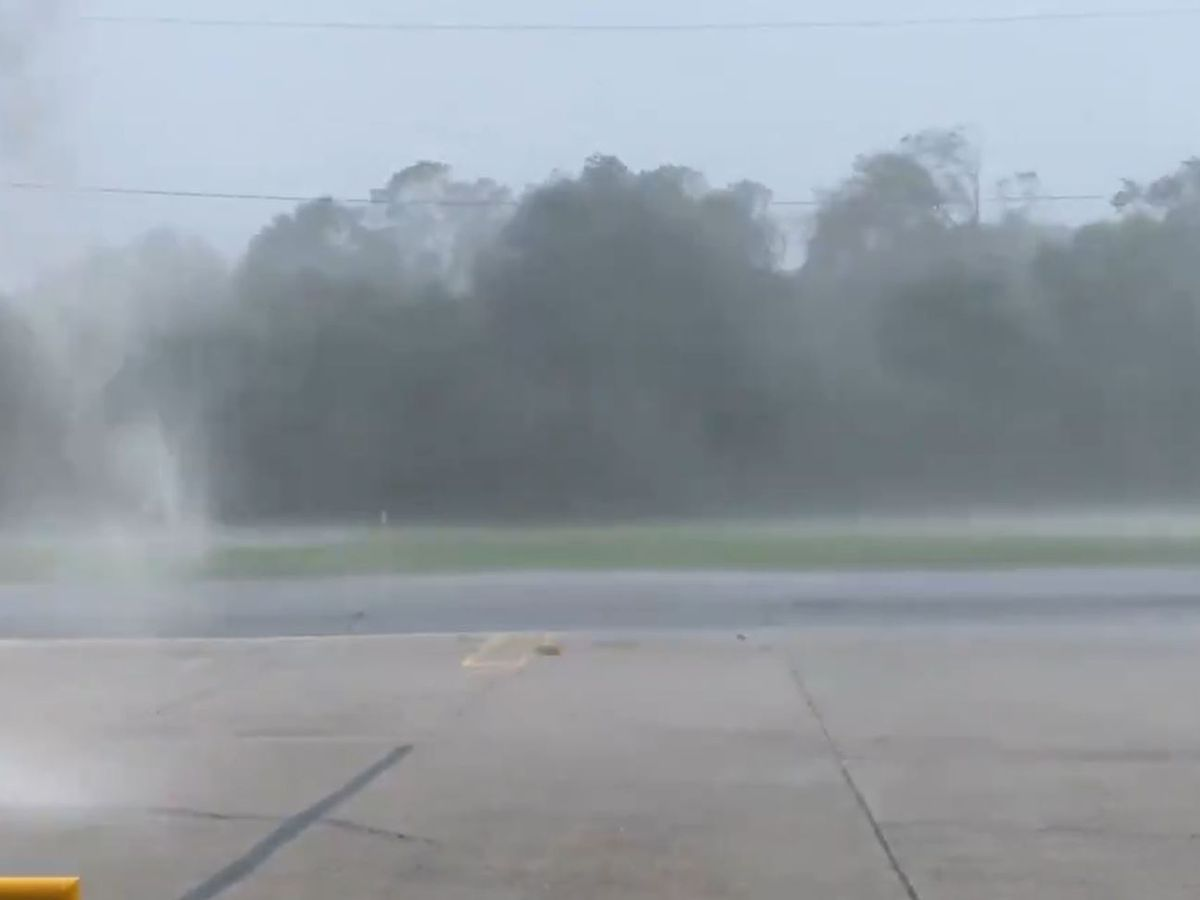 Lafourche Parish Sheriff's Office in Louisiana reports current weather conditions