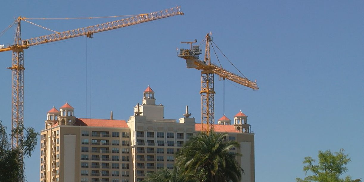 What's being built in the City of Sarasota