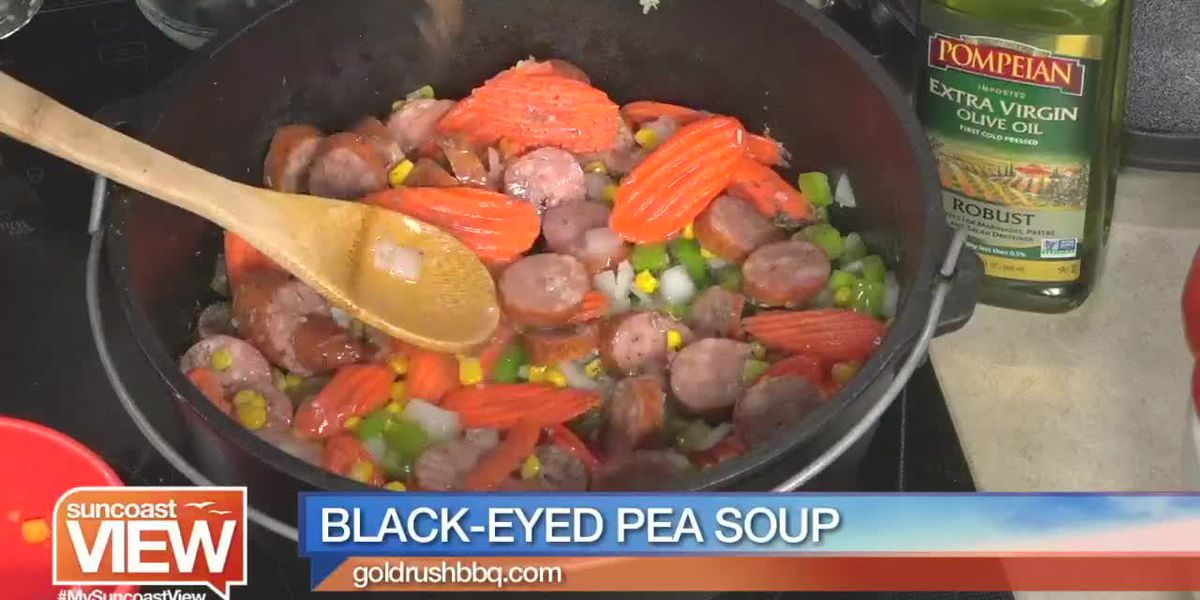Black-Eyed Pea Soup from Gold Rush BBQ | Suncoast View