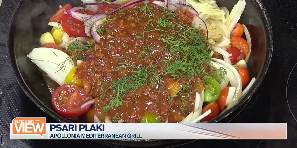 Learn How to Make Psari Plaki from Apollonia Mediterranean Grill | Suncoast View