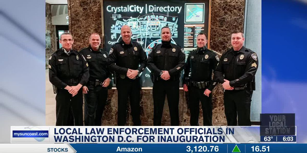 Local Law Enforcement Officials in Washington D.C. for Inaugurations