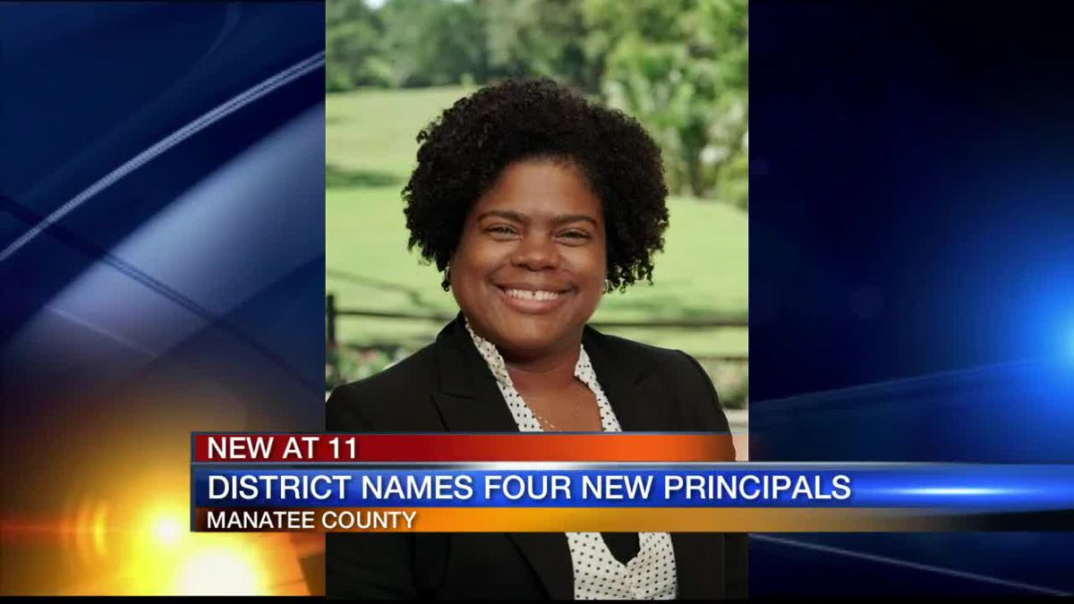 Manatee School District names four new principals