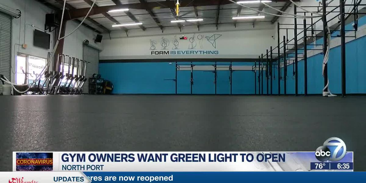 Gym owners want green light to open