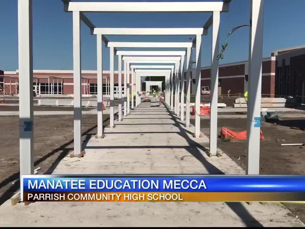 Parrish Community High School set to add USF campus