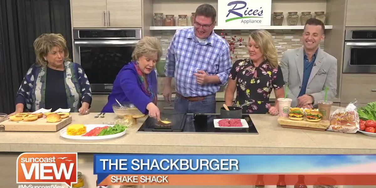 The Shake Shack Shows How We Can Make a Version of their Shackbuger! | Suncoast View