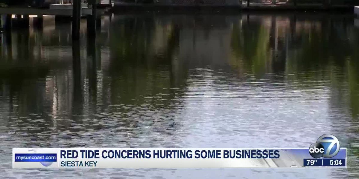 Concerns over previous red tide reports hurting some businesses