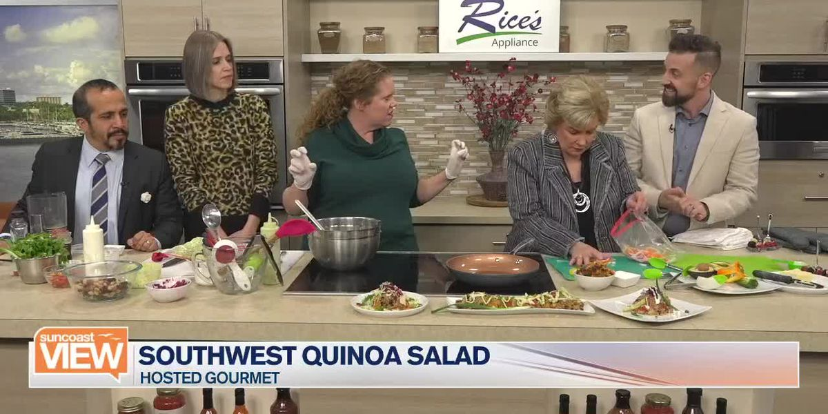 Southwest Quinoa Salad with Hosted Gourmet | Suncoast View